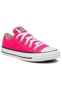 Converse Trampki Ctas Ox 170157C Różowy. Kolor: różowy