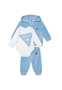 Niebieski dres Guess