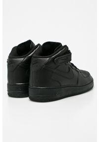 Czarne buty sportowe Nike Kids z cholewką
