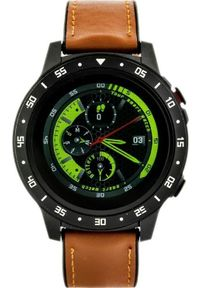 Brązowy zegarek Pacific smartwatch