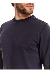 Niebieska bluza TOP SECRET na wiosnę, z długim rękawem, długa