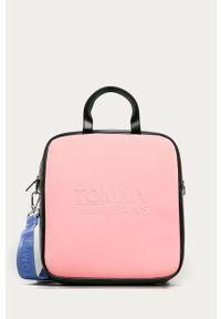 Różowa shopperka Tommy Jeans na ramię