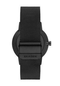 Skagen - Zegarek SKW6742. Kolor: czarny. Materiał: materiał