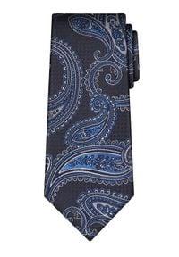 Vistula Krawat Piney XY0552 Granatowy. Kolor: niebieski