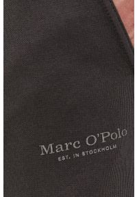 Marc O'Polo - Szorty. Kolor: szary. Materiał: dzianina, bawełna. Wzór: gładki