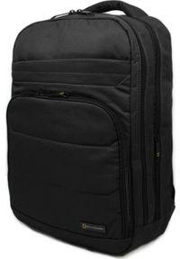 Czarny plecak na laptopa National Geographic
