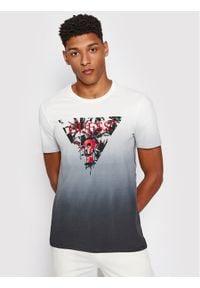 Guess T-Shirt M1RI84 J1300 Szary Slim Fit. Kolor: szary