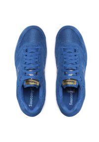 Saucony - Sneakersy SAUCONY - Shadow 5000 S70404-32 Blue/Cream. Kolor: niebieski. Materiał: zamsz, materiał, skóra ekologiczna, skóra. Szerokość cholewki: normalna