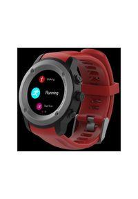 Czerwony zegarek Maxcom