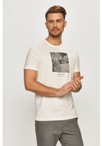 Kremowy t-shirt Only & Sons