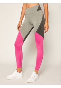 Legginsy Nike w kolorowe wzory