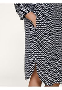 Sukienka koszulowa Persona by Marina Rinaldi w kolorowe wzory