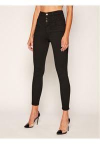 Guess Jeansy Skinny Fit Corset W0YA13 D3OA4 Czarny Skinny Fit. Kolor: czarny. Materiał: jeans