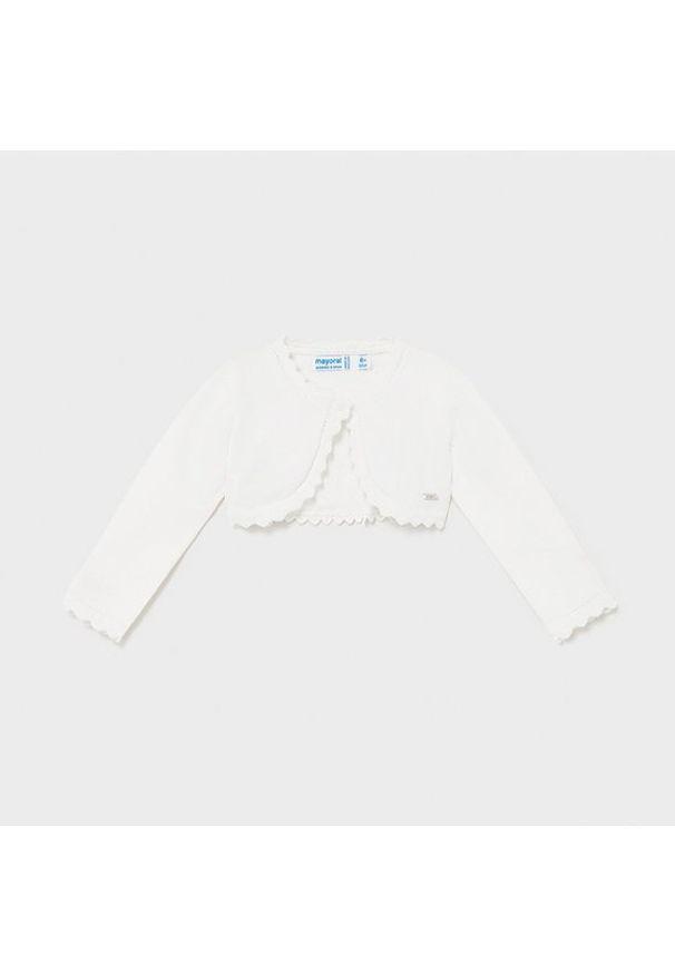 Biały sweter Mayoral