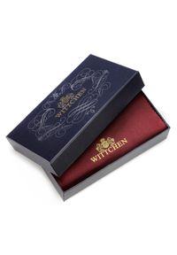 Wittchen - Damski portfel ze skóry duży z uchwytem. Materiał: skóra