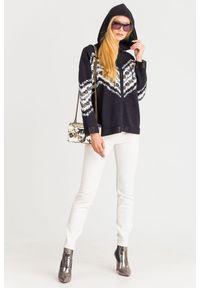 Sweter TwinSet na spacer, z długim rękawem, krótki