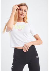 T-shirt EA7 Emporio Armani na co dzień, casualowy