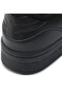 Adidas - Buty adidas - Rivalry Low EF8730 Cblack/Cblack/Ftwwht. Okazja: na co dzień. Zapięcie: sznurówki. Kolor: czarny. Materiał: skóra, skóra ekologiczna. Szerokość cholewki: normalna. Wzór: aplikacja. Sezon: lato. Styl: klasyczny, elegancki, casual