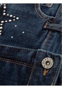 Mayoral Szorty jeansowe 6208 Granatowy Regular Fit. Kolor: niebieski. Materiał: jeans