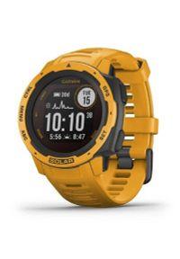 Żółty zegarek GARMIN sportowy, cyfrowy