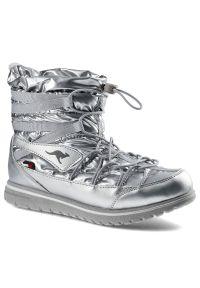 Kangaross - Śniegowce KANGAROSS 39071 000 9900 K-Wowi Jog Rtx Silver