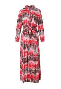 Born2be - Czerwona Sukienka Nephohsa. Kolor: czerwony