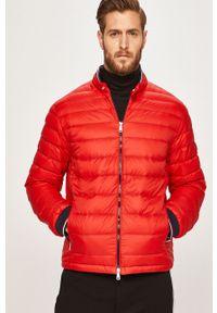 Czerwona kurtka Polo Ralph Lauren bez kaptura, na co dzień, casualowa
