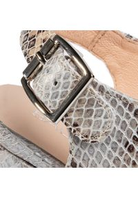Szare sandały Baldaccini