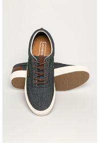 Szare sneakersy Jack & Jones z cholewką, z okrągłym noskiem, na sznurówki