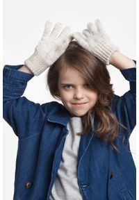 Beżowe rękawiczki PaMaMi