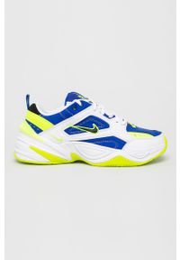 Białe sneakersy Nike Sportswear z cholewką, z okrągłym noskiem, na sznurówki