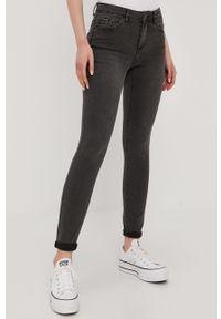 Szare jeansy Vero Moda gładkie