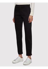 BOSS - Boss Spodnie materiałowe C_Tachini-D 50441881 Czarny Regular Fit. Kolor: czarny. Materiał: materiał