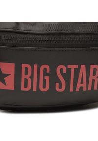 Big-Star - Saszetka nerka BIG STAR - HH574265 Dk.Grey/Red. Kolor: szary. Materiał: materiał