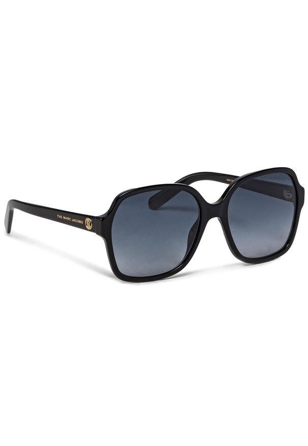 Okulary przeciwsłoneczne MARC JACOBS - 526/S Black 807. Kolor: czarny