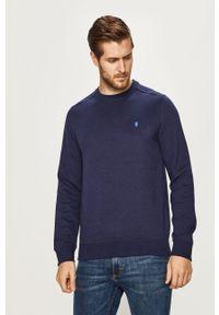 Niebieska bluza nierozpinana Izod bez kaptura