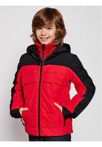 Rossignol Kurtka narciarska Polydown RLJYJ04 Czerwony Classic Fit. Kolor: czerwony