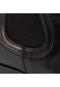 Gino Rossi - Sztyblety GINO ROSSI - 4768-01 Black. Okazja: na co dzień. Kolor: czarny. Materiał: skóra. Szerokość cholewki: normalna. Sezon: zima, jesień. Obcas: na obcasie. Styl: casual. Wysokość obcasa: średni