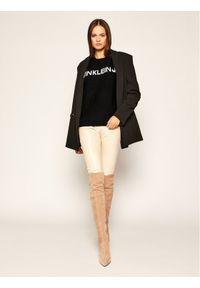 Czarny sweter klasyczny Calvin Klein Jeans