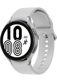 SAMSUNG - Smartwatch Samsung Galaxy Watch 4 Aluminum 44mm LTE Szary (SM-R875FZSAEUE). Rodzaj zegarka: smartwatch. Kolor: szary