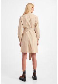 Weekend Max Mara - SUKIENKA FALCO WEEKEND MAX MARA. Materiał: materiał. Typ sukienki: koszulowe. Długość: mini