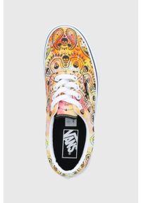 Vans - Tenisówki. Nosek buta: okrągły. Zapięcie: sznurówki. Materiał: guma