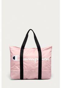 Champion - Torebka. Kolor: różowy. Rodzaj torebki: na ramię