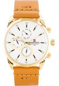 Złoty zegarek Naviforce