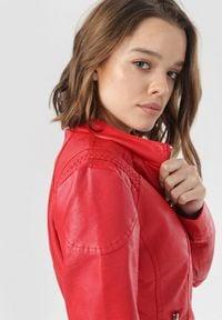 Born2be - Czerwona Ramoneska Aiesha. Kolor: czerwony