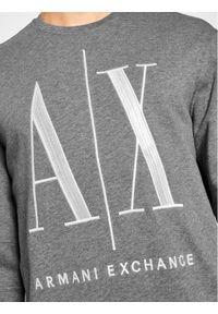 Armani Exchange Bluza 8NZMPA ZJ1ZZ 3930 Szary Regular Fit. Kolor: szary