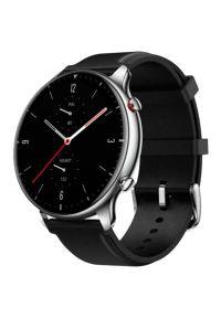 Srebrny zegarek AMAZFIT smartwatch