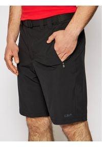 CMP Szorty sportowe 3T51847 Czarny Regular Fit. Kolor: czarny