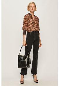 Czarne jeansy Levi's® na spotkanie biznesowe, z podwyższonym stanem, biznesowe