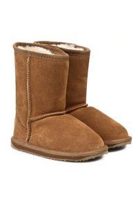 Brązowe buty zimowe EMU Australia